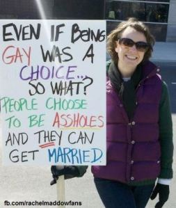 clever gay marriage sign