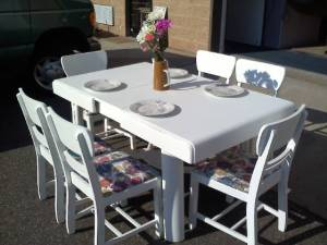 If it looks this good in a parking lot, can you even imagine what it will look like in my dining area???