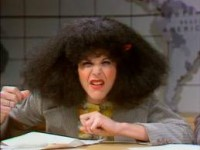 My hair + humidity = Roseanne Roseannadanna