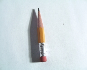 We make mistakes... that's why pencils have erasers!