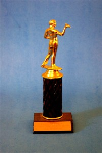 I couldn't find a public domain image of an actual Academy Award, so this will have to do!