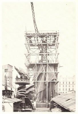 statueoflibertyunderconstruction