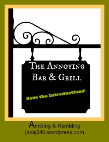the annoying bar & grillsavetheintro
