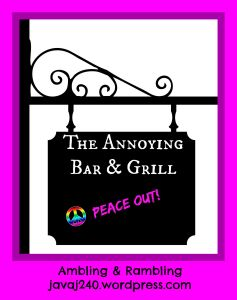 the annoying bar & grill peaceout